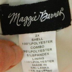 Maggie Barnes Dresses - MAGGIE BARNES Maxi Midi DRESS 2X 18 20 Watercolor
